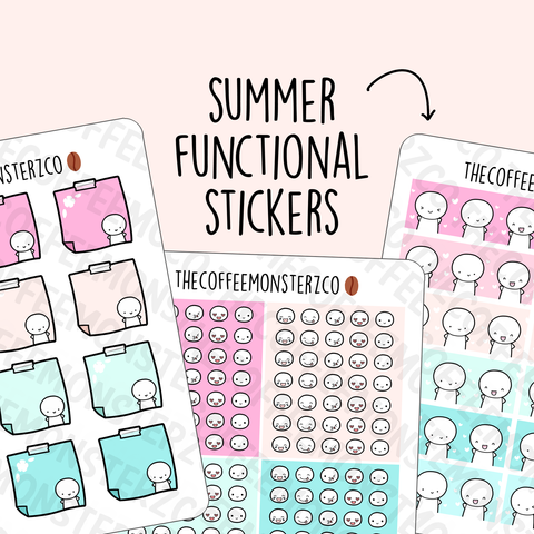 Summer Emoti Functionals (RESTOCK)