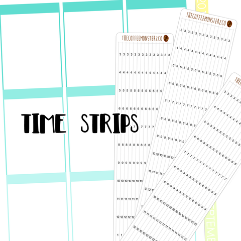 time strips ( erin condren )