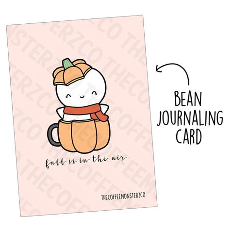 Fall is in the Air (Bean Card)