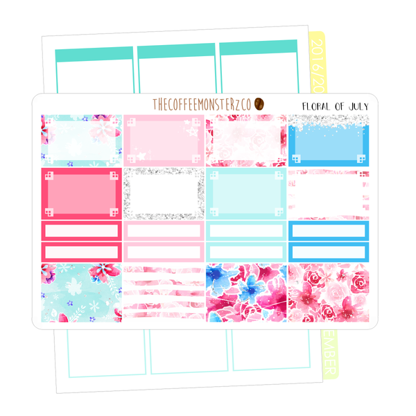floral of july full vertical kit, TheCoffeeMonsterzCo