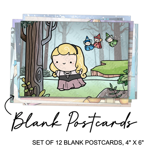 PREORDER Set of 12 Blank Postcards