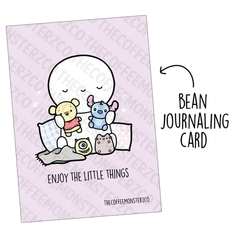 Enjoy the Little Things (Bean Card)
