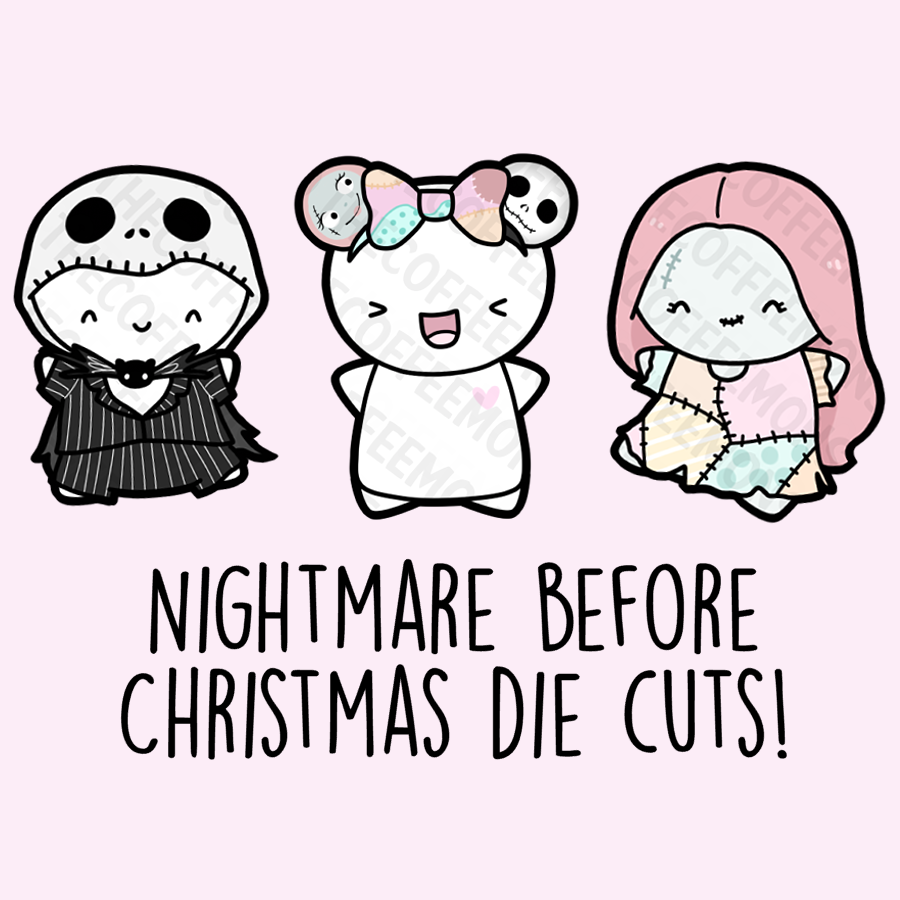Nightmare Before Christmas Die Cuts
