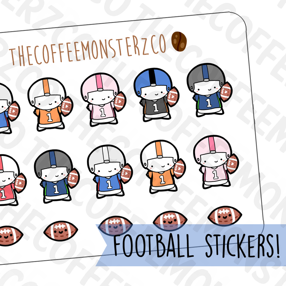 Football Emotis, TheCoffeeMonsterzCo