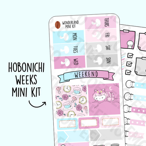 Wonderland Hobonichi Weeks Kit