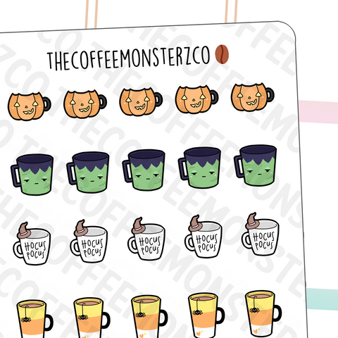 Halloween Mug Doodles (FINAL STOCK)