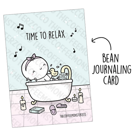 Time to Relax! (Bean Card)
