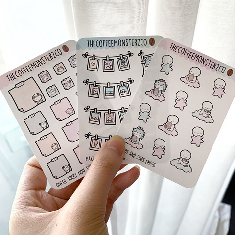 OVERSTOCK: Mini Sticker Set (3 Pages)