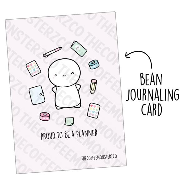Proud to be a Planner (Bean Card)