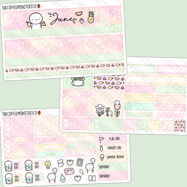 June Monthly Kit 2020