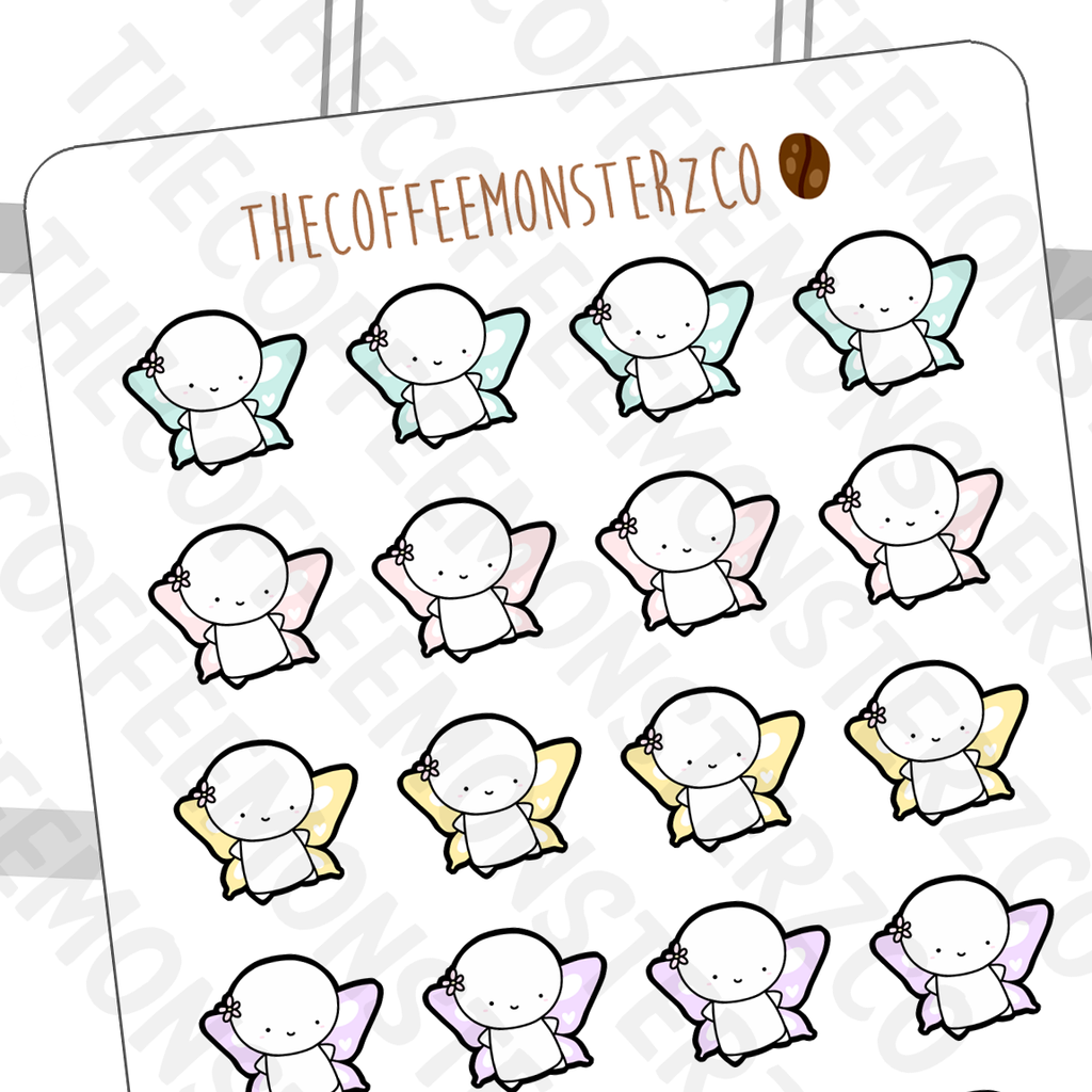 butterfly emotis, TheCoffeeMonsterzCo
