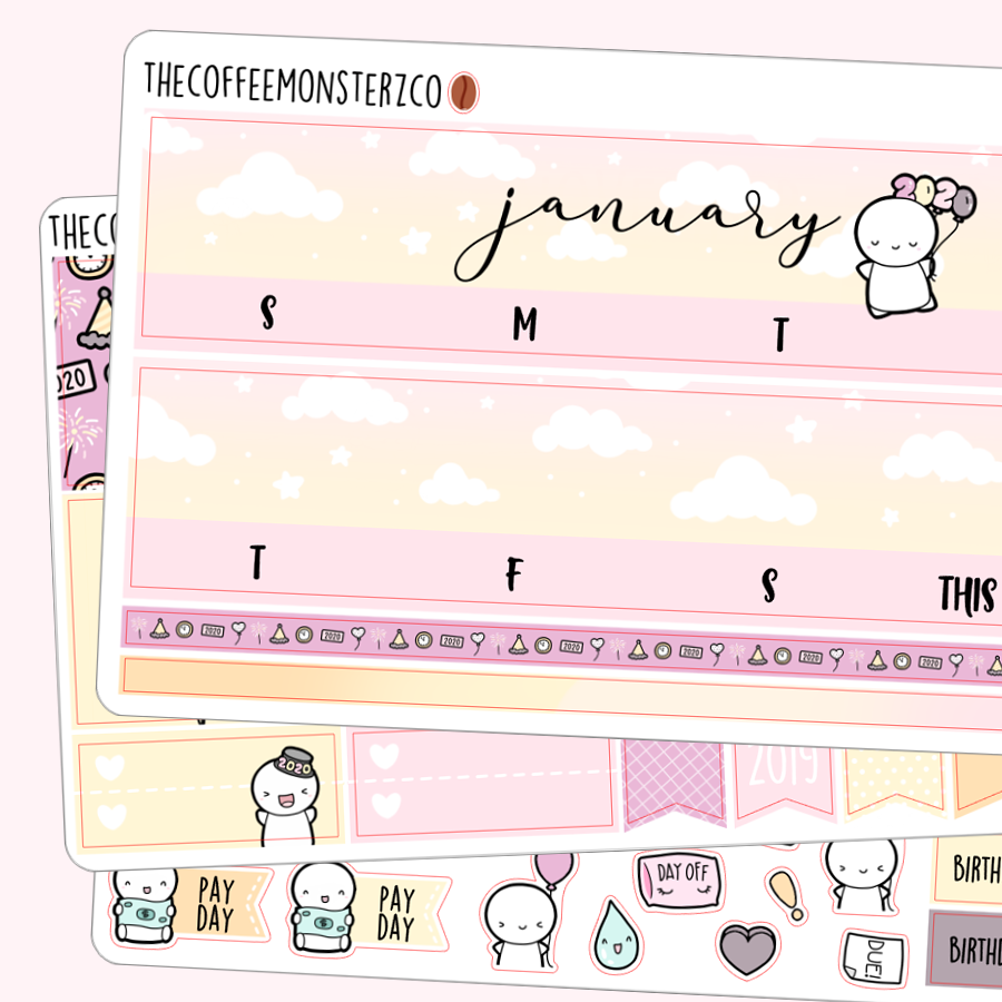 January Monthly Kit 2020