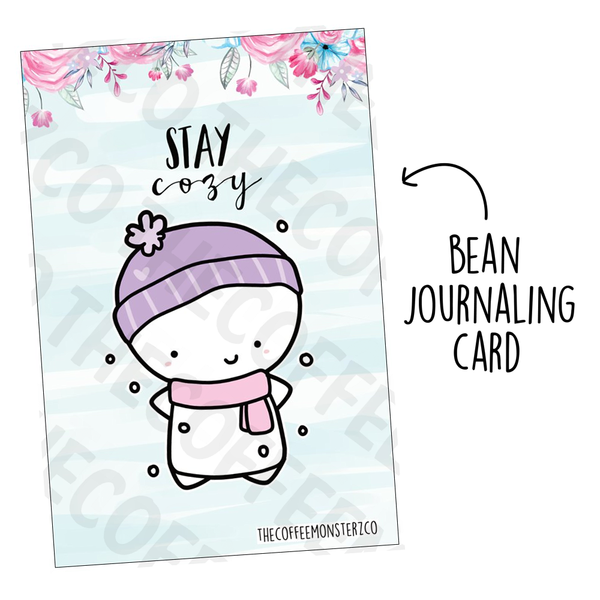 Stay Cozy (Bean Card)