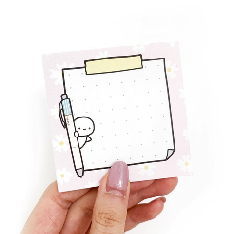 MISFIT Spring Floral Sticky Note Pad (no limits per person)