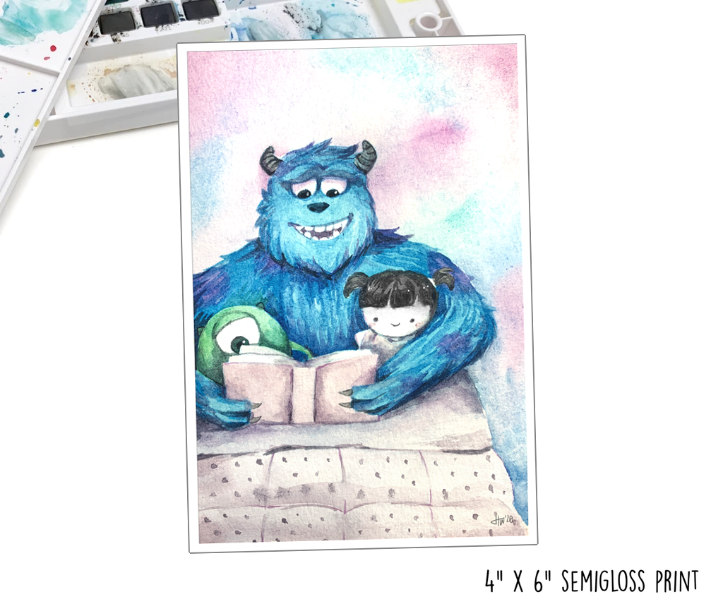 """Boo-time Story"" Art Print"