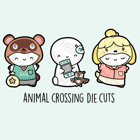 Animal Crossing Die Cuts