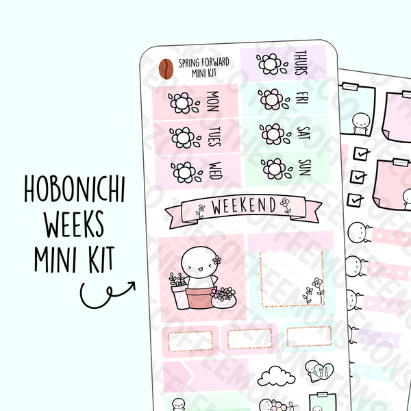 Spring Forward Hobonichi Weeks Kit