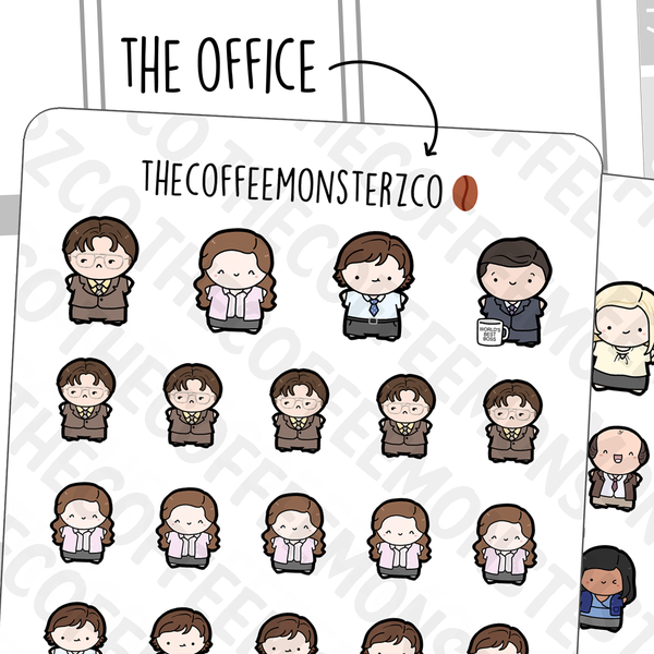 The Office Emotis