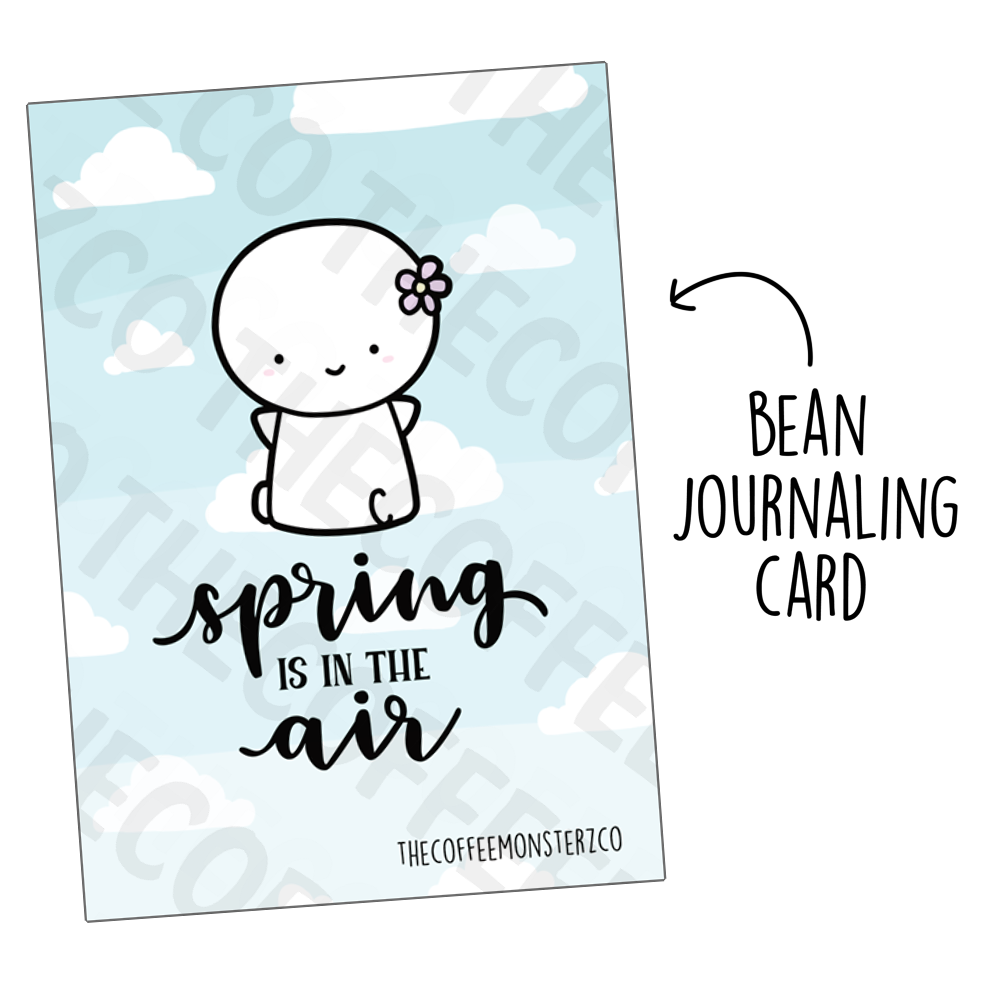 Spring is in the air (Bean Card)