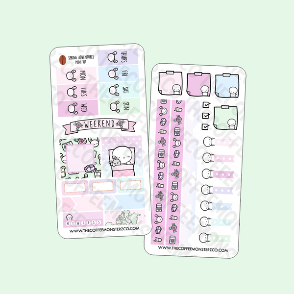 Spring Adventures Hobonichi Weeks Kit