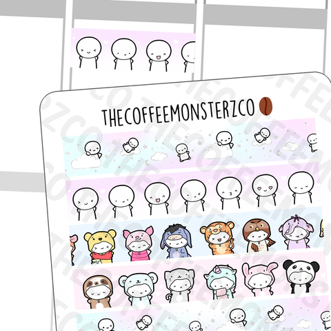 Non-presale Washi Strip Stickers, TheCoffeeMonsterzCo