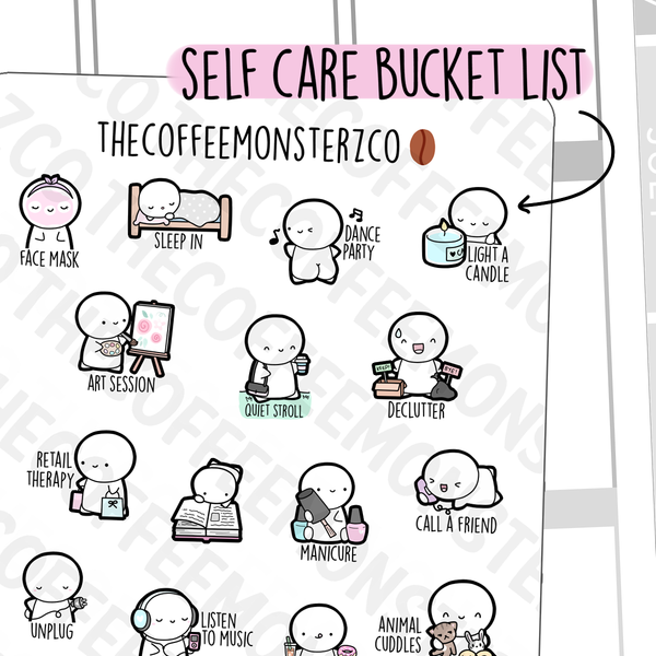 Self Care Bucket List