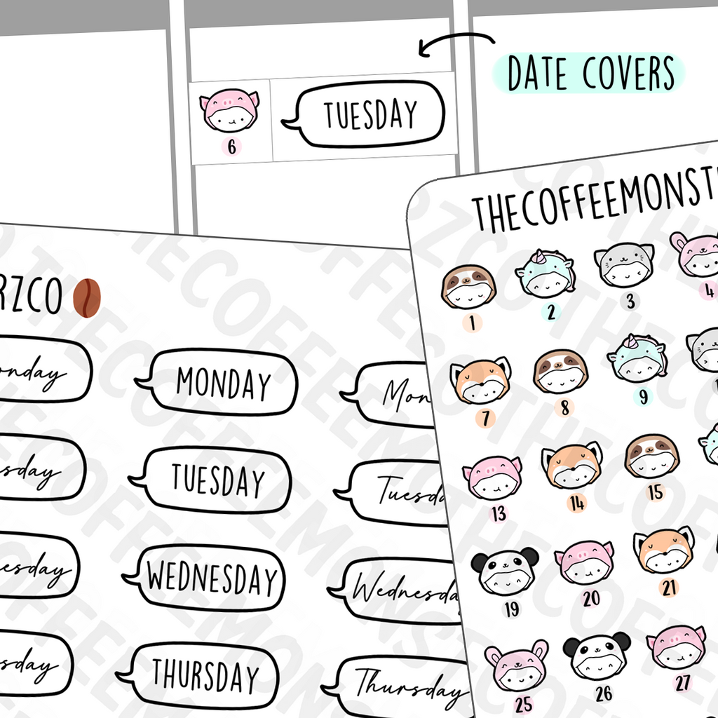 Onesie Date Covers