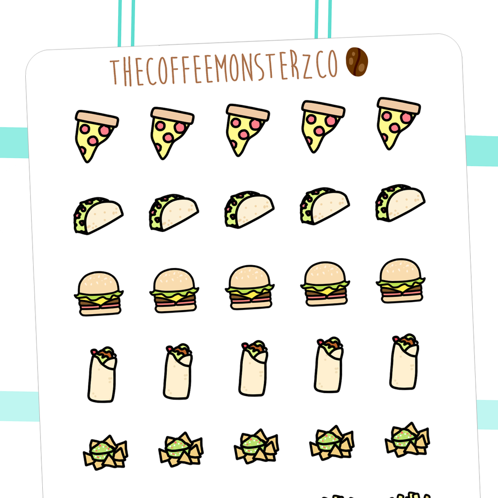 Fast Food Doodles Thecoffeemonsterzco