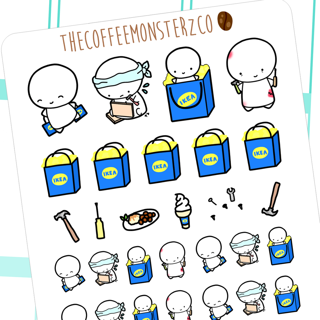 ikea emotis (shopping series), TheCoffeeMonsterzCo