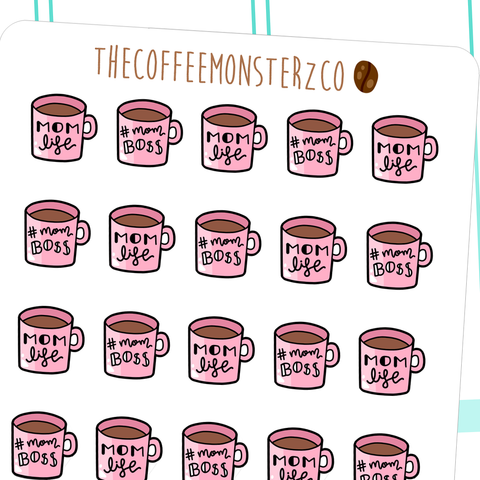 mom life mugs, TheCoffeeMonsterzCo