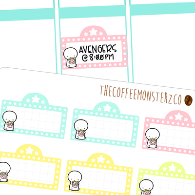 emoti movie marquees, TheCoffeeMonsterzCo