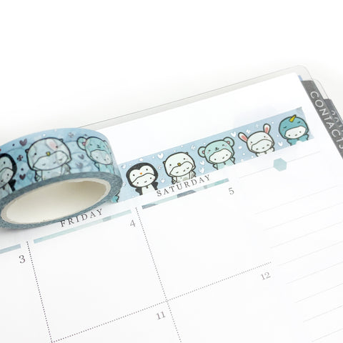 Winter Critters Washi Tape (MAX 2 PER PERSON)