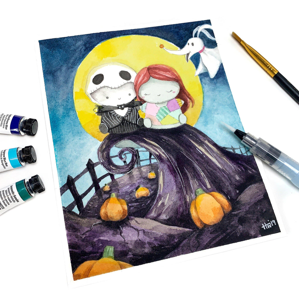 """This is Halloween"" Art Print"