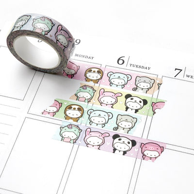 Foiled Rainbow Onesie Washi Tape (2 PER PERSON), TheCoffeeMonsterzCo