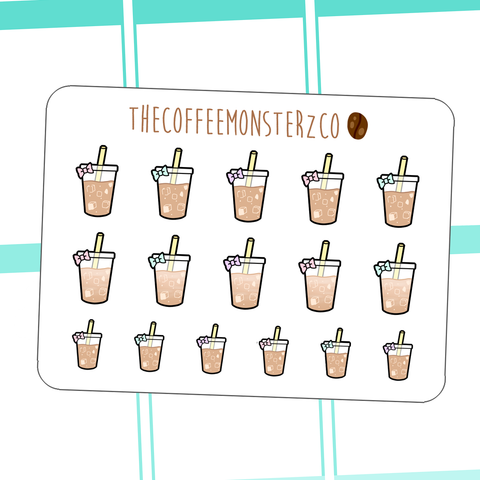 iced coffee doodles (2 WEEKS ONLY)