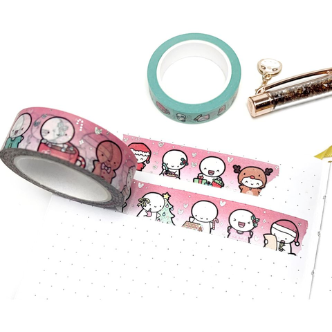 Christmas Emoti Washi Tape (LIMIT 3 PER PERSON)