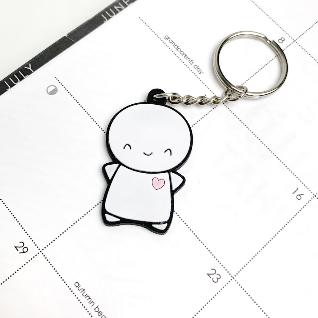 PVC Emoti Keychain (MAX 1 PER PERSON)