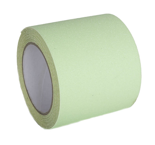"Non-Slip Tape - 4"" x 15', Glow in the Dark"