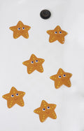 Non Slip Bathtub Stickers, Soft & Safe Vinyl Starfish
