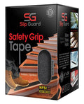 "Non Slip Tape - 6"" x 24"" Pre-Cut Strips (Pack of 12), Clear"