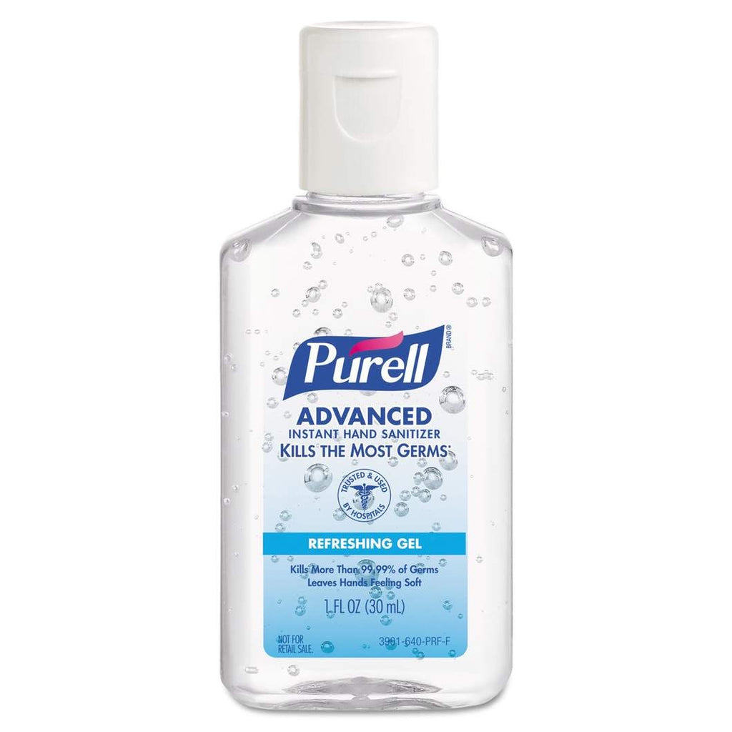 Purell Advanced Travel Size 30ml Hand Sanitizer 5 Pack
