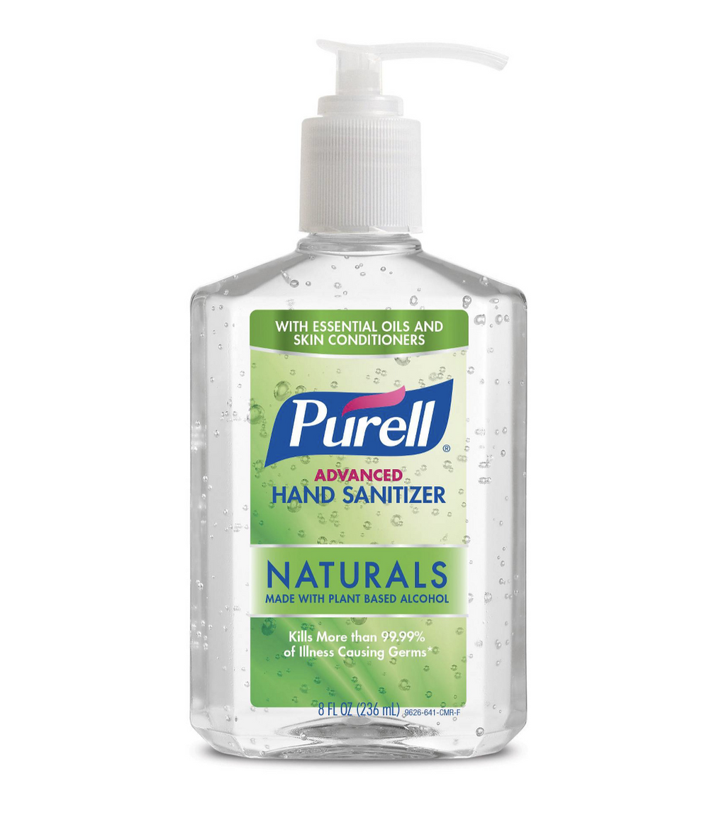 Purell Hand Sanitizer Gel 8oz & 10oz