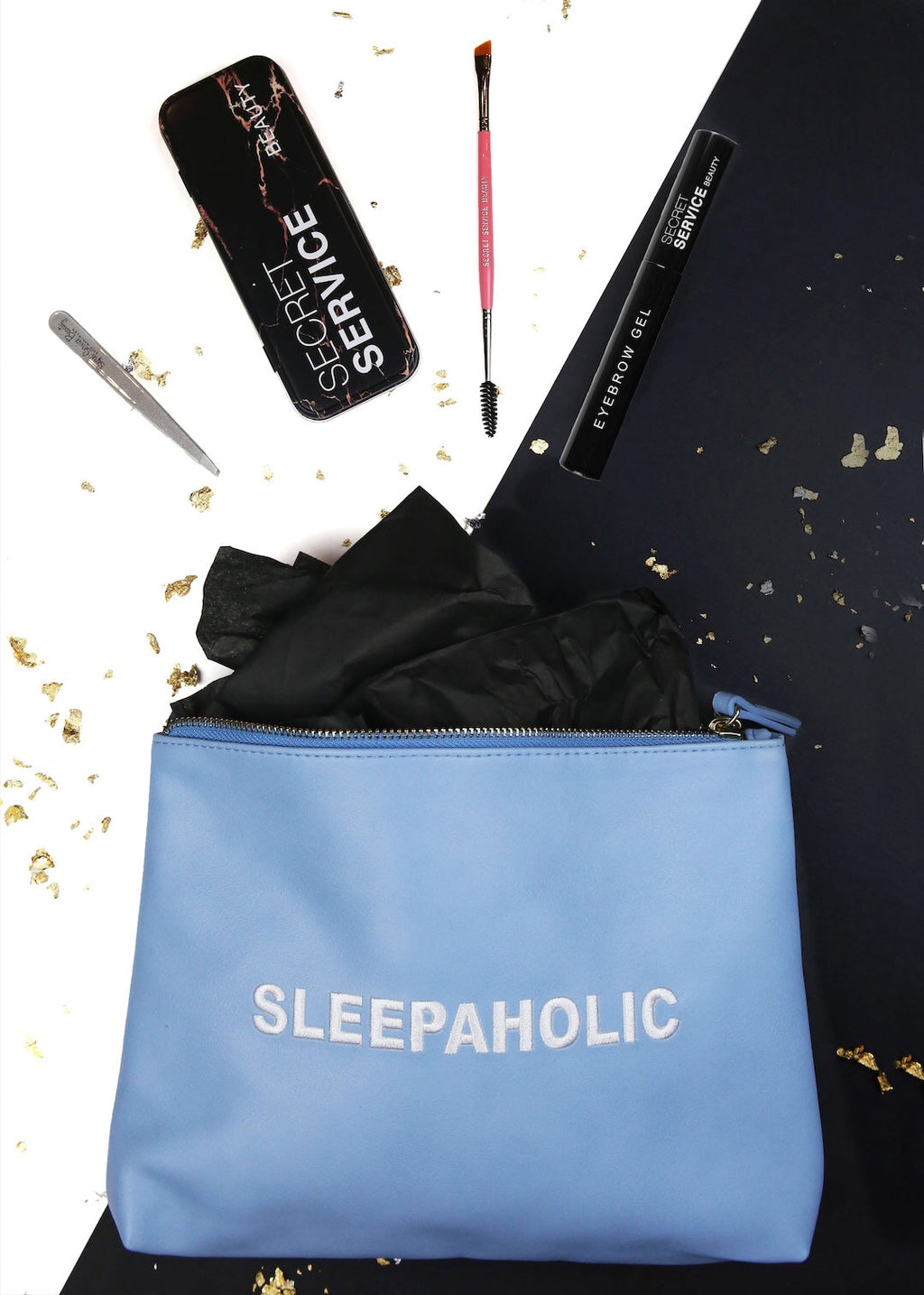Baby Blue Sleepaholic Deluxe Brow Set