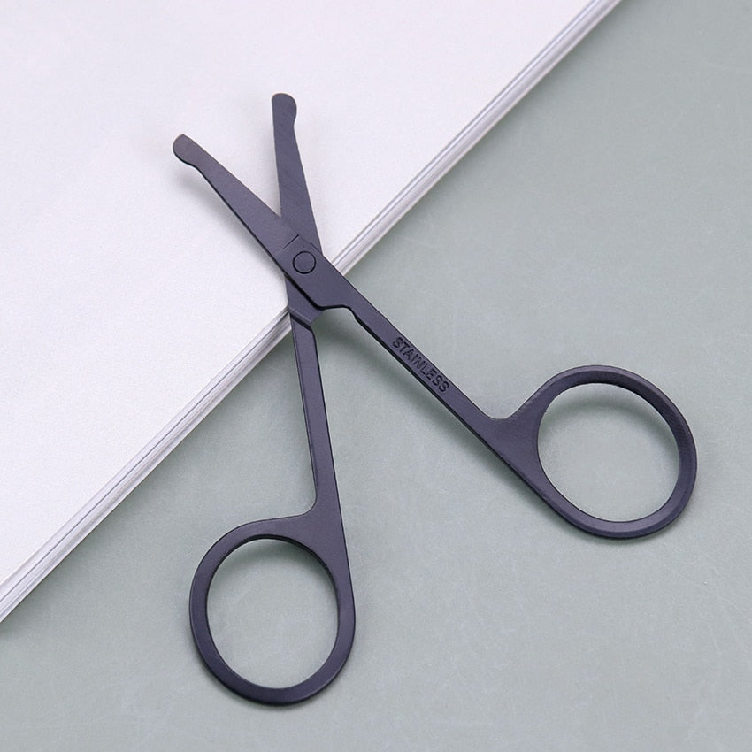 Hair Grooming Scissors Stainless Steel Eyebrow