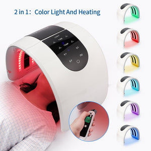 2In 1 LED PDT Light Photon Therapy Facial Mask Led Skin Rejuvenation Machine