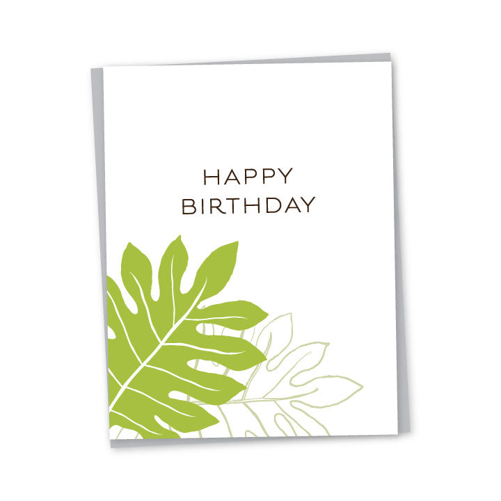 'Ulu Birthday Card