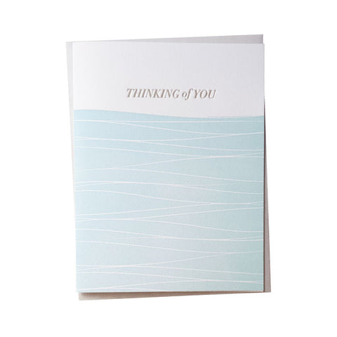 Thinking of You Waves Card