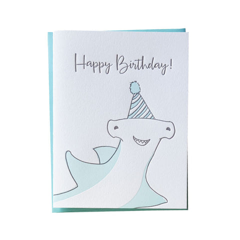 Hammer Head Birthday Card