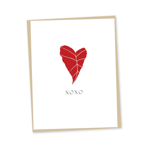 Kalo, My Love Letterpress Card