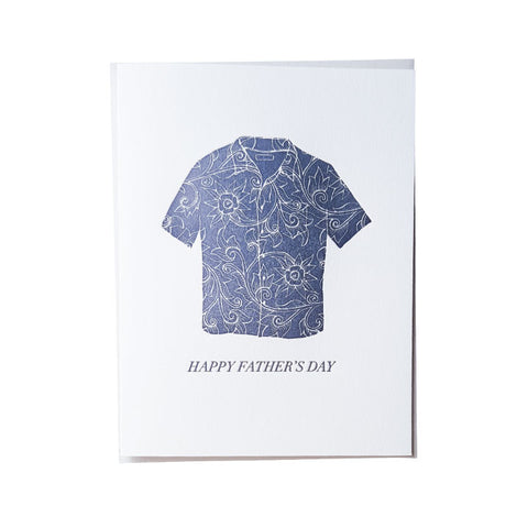 Father's Day Aloha Shirt Card
